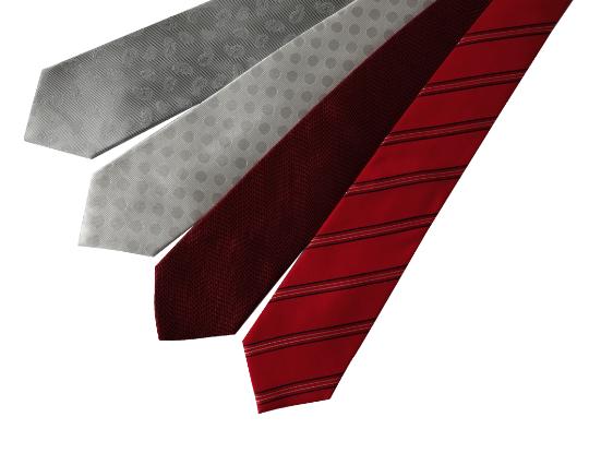 おすすめのネクタイの写真